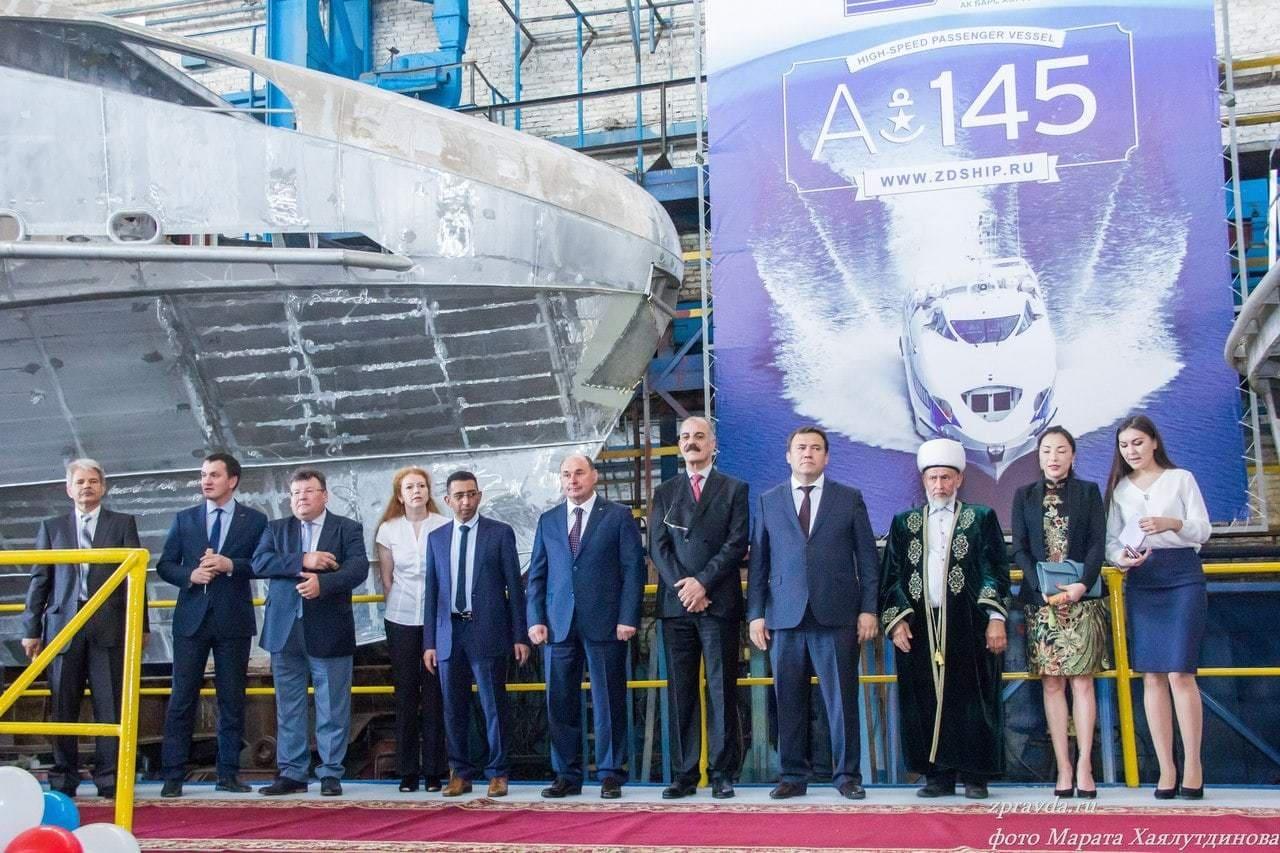 Зеленодольский завод имени Горького построил два высокоскоростных судна для ОАЭ