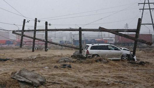 Водитель снес опору ЛЭП и оставил без света несколько домов